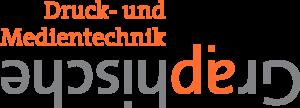 Druck- und Medientechnik Graphische Logo